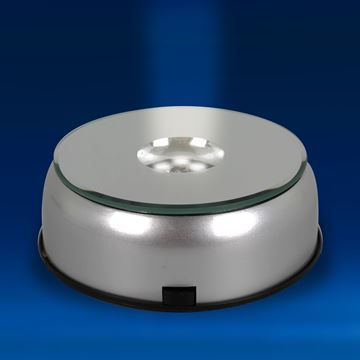Large Rotating 7 White LEDs Light Base