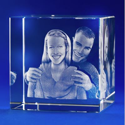 X-Large Cube Crystal