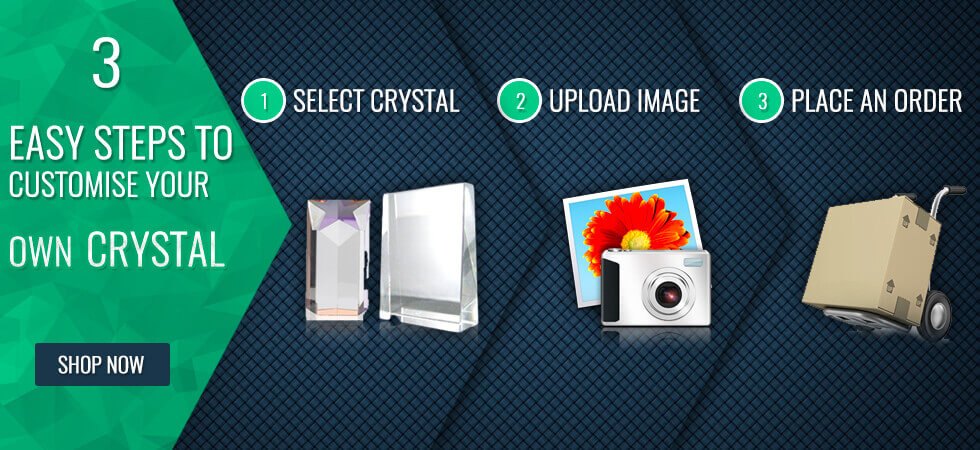 Customise your 3D Photo Crystal Now!
